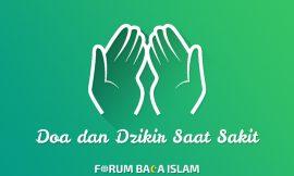 Doa dan Dzikir Saat Sakit Berat, Inilah Rekomendasi Doa Rasulullah