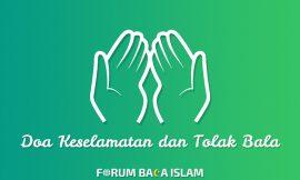 Doa Diberi Keselamatan dan Tolak Bala (Arab, Indonesia, Arti)