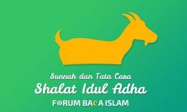 Adab (Sunnah) dan Tata Cara Pelaksanaan Shalat Idul Adha